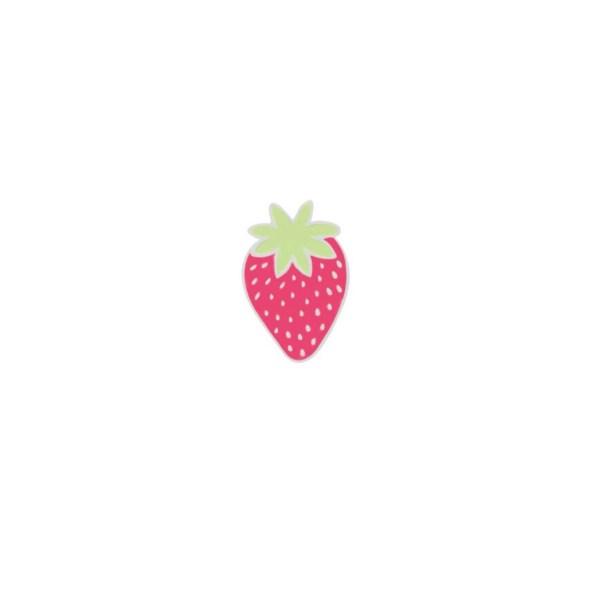 pin's fraise