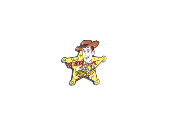pin's disney sheriff woody