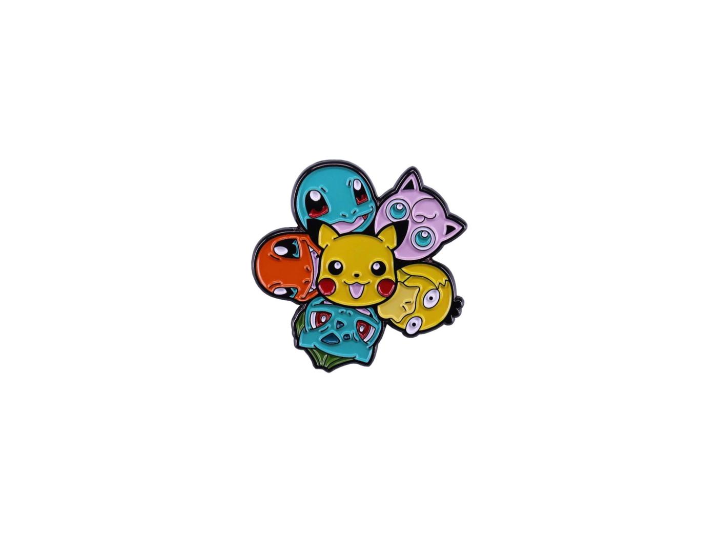 pin's pokémon team