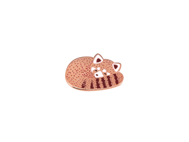pin's panda roux