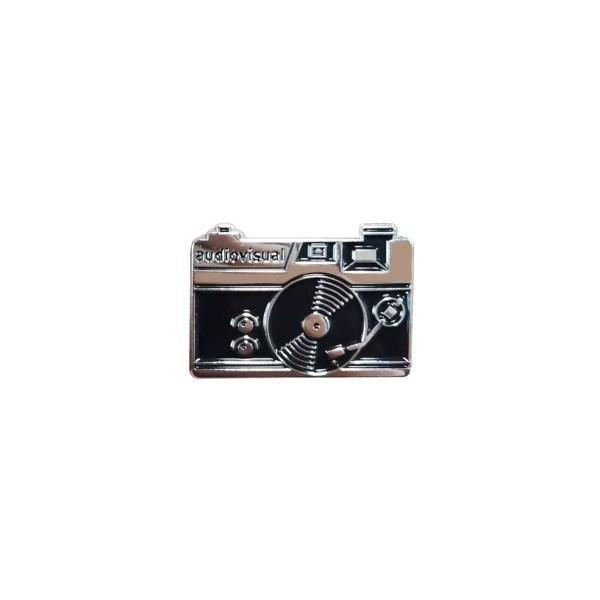 pin's appareil photo noir