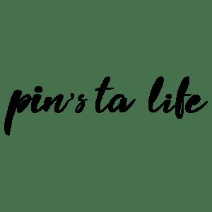 logo Pin's ta life sans fond