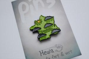 france map heula pins