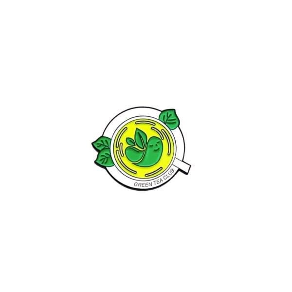 pin's thé vert