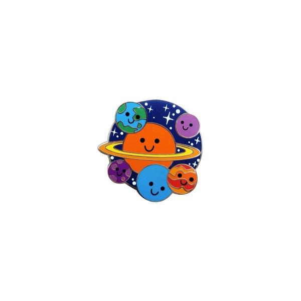 pin's planètes enfants