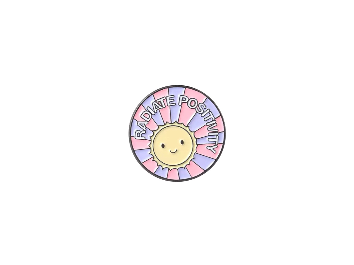 pin's radiate positivity