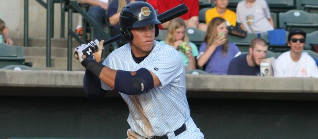 Aaron Judge File Photo (Charleston RiverDogs)