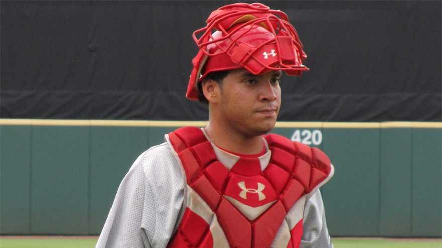 Sebastian Valle in the 2011 Florida State League All-Star Game (Bryan Green)