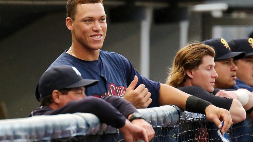 Aaron Judge (Photo by Martin Griff)