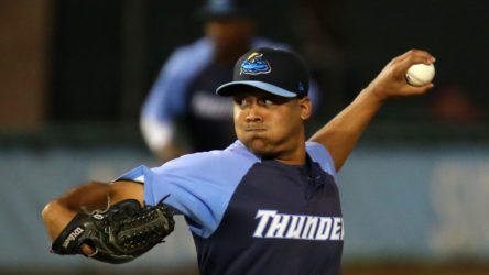 Trenton Thunder southpaw Justus Sheffield is expected to start Game 3 for Trenton on Friday. (Photo by Martin Griff)
