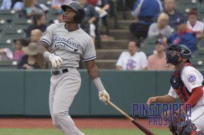 Jhalan Jackson hit a monstrous 2-run homerun (Robert M. Pimpsner)