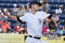 Matt Borens pitched six solid innings in relief (Robert M. Pimpsner)