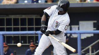Junior Valera has been the Staten Island Yankees most consistent hitter this season (Robert M Pimpsner)