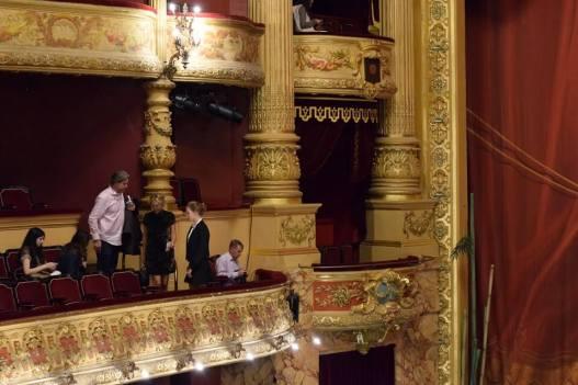La salle de Opera Comédie de Montpellier