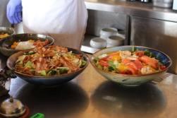 Plage Cocobaia - salades à la minute