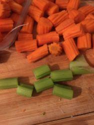 Couscous - celeri et carottes