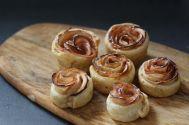 la rose après cuisson - Boutons de roses