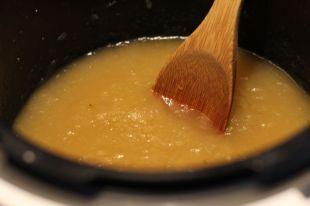 la compote - Tarte aux Pommes