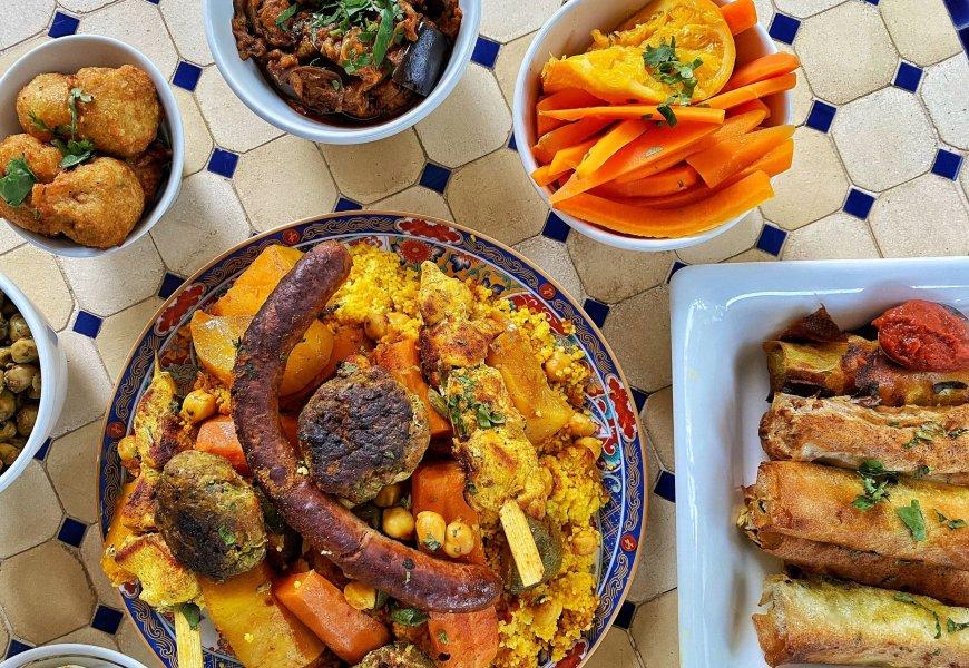 O JASMIN restaurant // Où manger un très bon couscous à Montpellier ?
