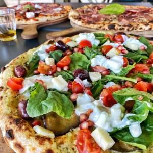 POUSSE ORGANIC BREAK restaurant // Pimp ta pizza 100% bio, frais et fait maison