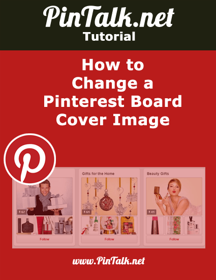 Change Pinterest- Board Cover Image