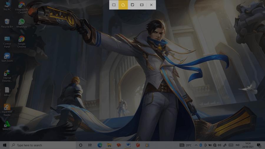 Cara Mudah Screenshot di Laptop