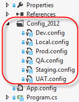 visual studio add folder to project