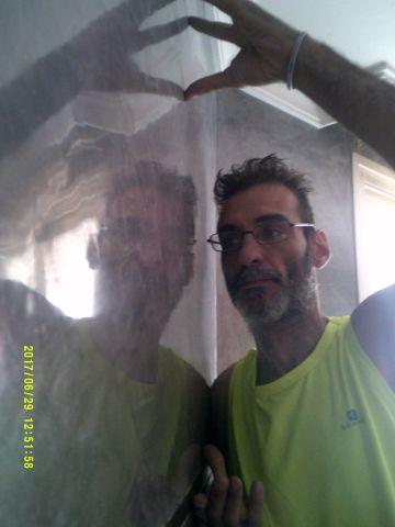 Reflejos sobre Estuco Veneciano Color Gris 22