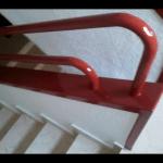 barandilla esmalte rojo 3