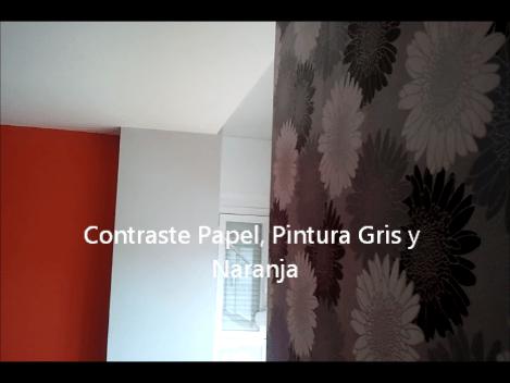 Plastico Color Gris Claro, Plastico Color Naranja y Papel - Pinturas Urbano