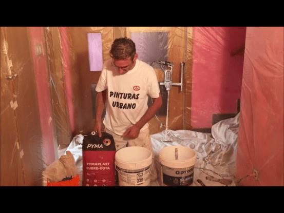 Como aplicar masilla aguaplas