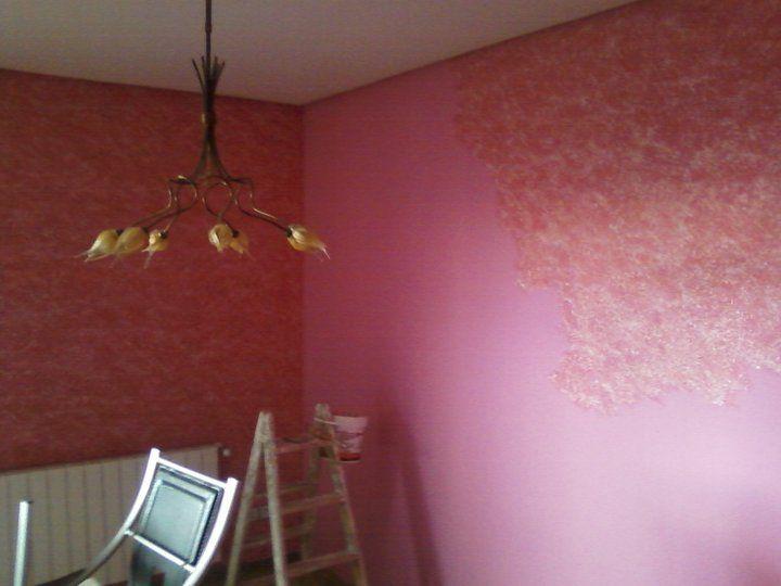Salon Tierras Florentinas color Rosa 6