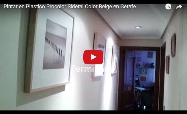 Pintar en Plastico Sideral Color Beige en Getafe