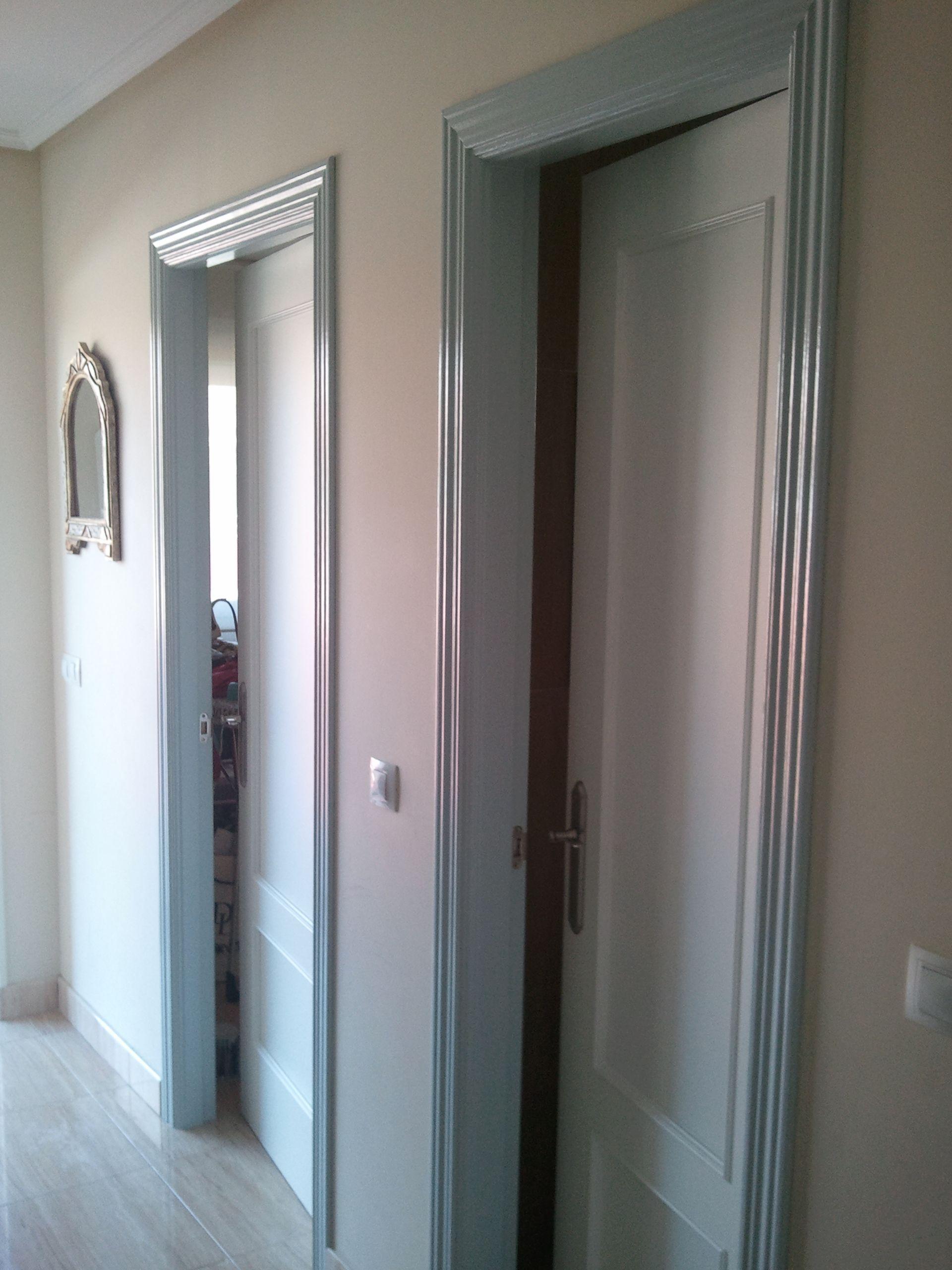 Presupuesto lacar puertas en blanco elegant with - Cuanto vale lacar una puerta ...