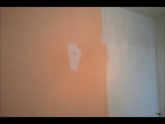 aplicando 1ª masilla aguaplast