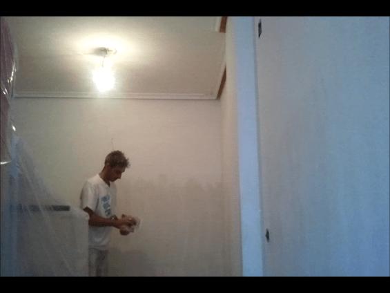 Aplicando 3 Mano de Aguaplast Macy Acabados 6