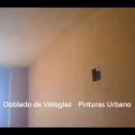 Doblado de veloglas - Pinturas Urbano 15