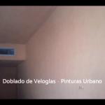 Doblado de veloglas - Pinturas Urbano 16