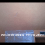 Doblado de veloglas - Pinturas Urbano 17