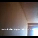 Doblado de veloglas - Pinturas Urbano 6