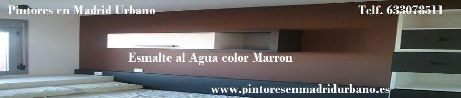 Banner Esmalte color Marron