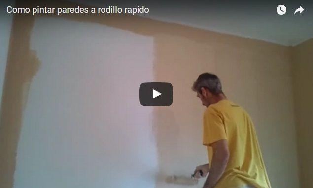 Como pintar paredes en plastico color marron