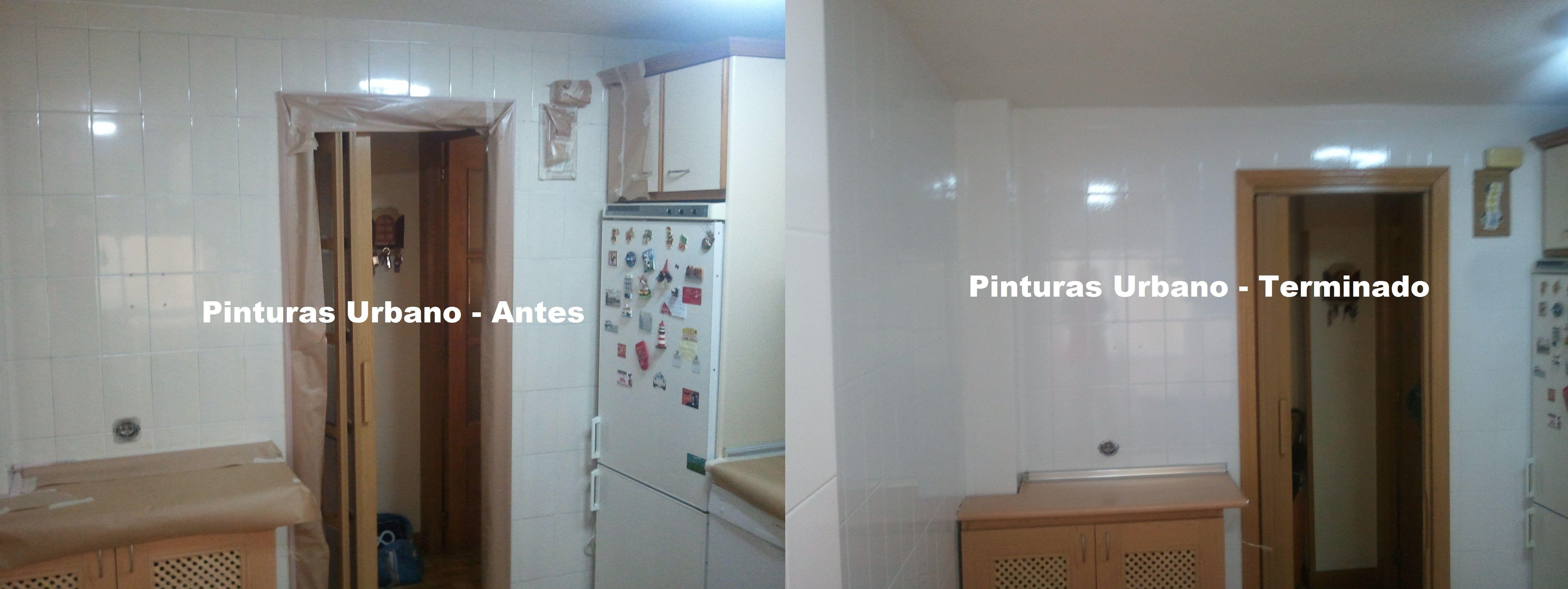Pintar azulejos de cocina latest pintar los azulejos de for Pintar la cocina