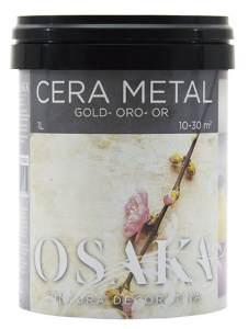Cera Metal Oro Osaka