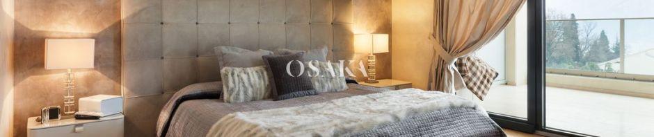 osaka pintura decorativa damasco efecto estuco seda terciopelo color esencia marron beige piedra ebano dormitorio 5