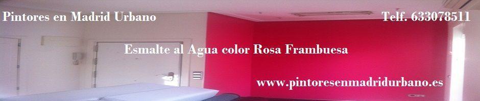 Banner Esmalte Pymacril Color Rosa Frambuesa