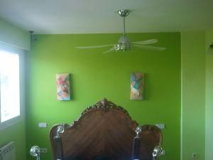 Dormitorio Verde oscuro y verde claro (3)