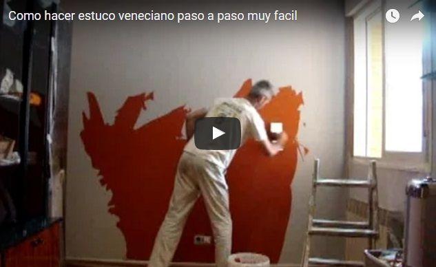 Pintar Paño Oficina en Estuco Veneciano