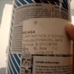 Esmalte pymacril color azul grisacio