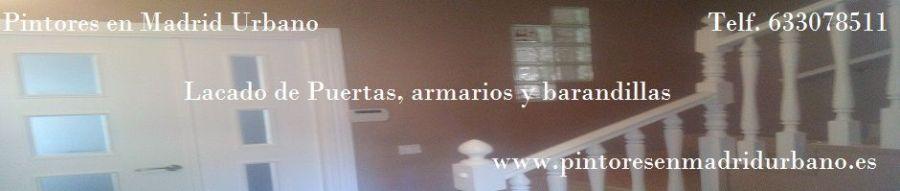 Banner Lacado barandilla y puerta en Blanco Acritec